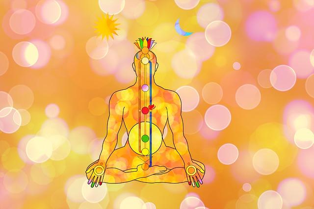 position des chakra